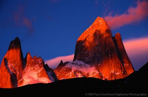 Fitz Roy Morning Glow