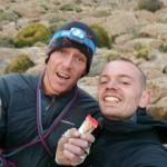 Op de top vd Tadrarate!! (foto: K. Snoek)