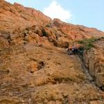 De eerste lengte van Fissure de Gauche (foto: K. Snoek)