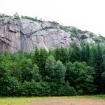 Het gebied Svaneberget met de prachtige Bergkirtstis Polska.