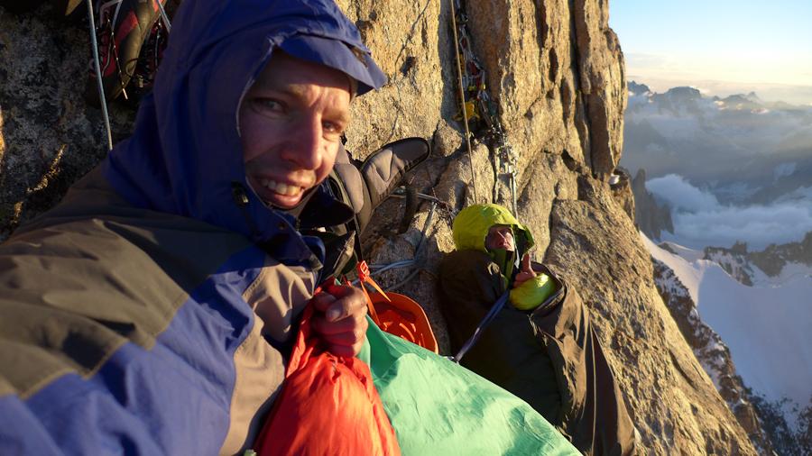 's ochtends ontwaken op 4600 m © N. van Veen.