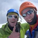 Op de top van de Monte Bianco © N. van Veen.